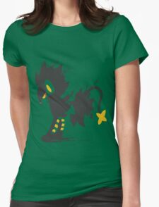 Luxray paint-splatter  Womens Fitted T-Shirt