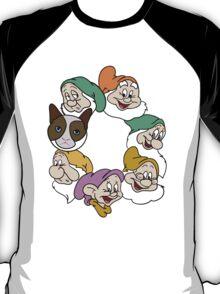 Grumpy & 6 Dwarfs!  T-Shirt