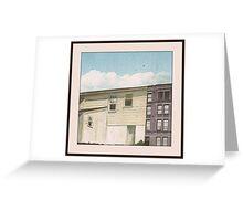 3 washington square North Greeting Card