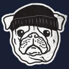 Thug Pug in da house! by Renny Roccon