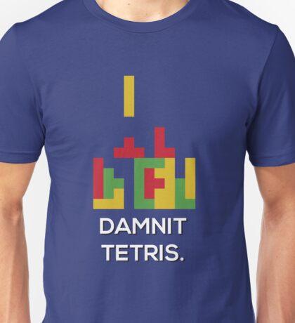 Damnit Tetris Unisex T-Shirt