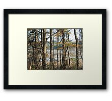Riverside Trail Framed Print