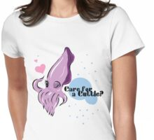 Cuddle Fish Womens Fitted T-Shirt