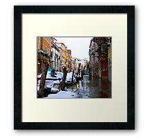 Casa Rezzonico Framed Print
