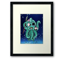 OCTOSPEAR Framed Print