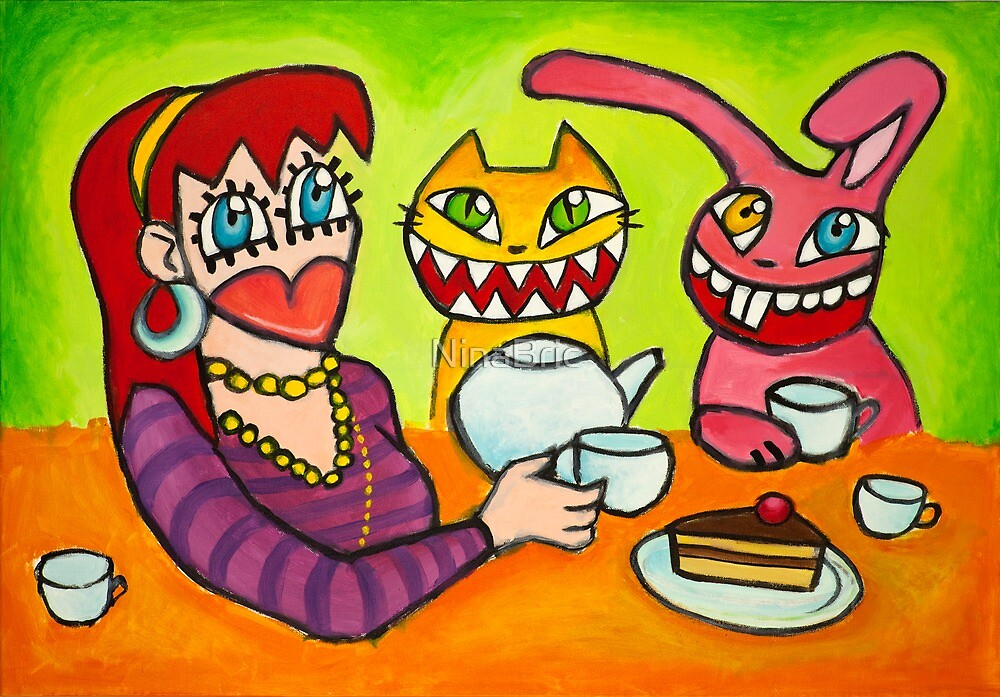 Tea party by NinaBric