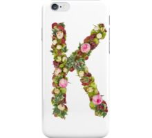 Capital Letter K Part of a set of letters, Numbers and symbols  iPhone Case/Skin