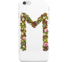 Capital Letter M Part of a set of letters, Numbers and symbols iPhone Case/Skin
