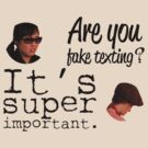 Are You Fake Texting?   Lizzie Bennet Diaries by Michael Audet