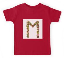Capital Letter M Part of a set of letters, Numbers and symbols Kids Tee