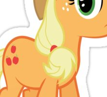 Applejack is not amused  Sticker