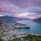 Queenstown Sunset by Paul Campbell  Photography