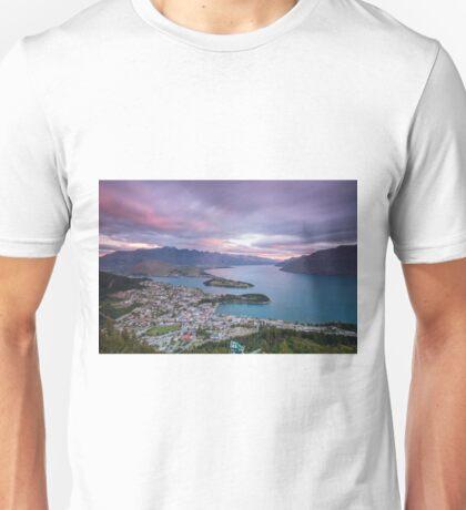 Queenstown Sunset Unisex T-Shirt
