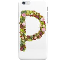 Capital Letter P Part of a set of letters, Numbers and symbols iPhone Case/Skin