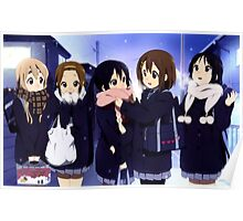 K-On Merry Christmas Poster
