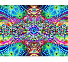 Cosmic Creatrip - Psychedelic trippy visuals Photographic Print