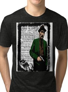 William S Burroughs Dead On Arrival Tri-blend T-Shirt