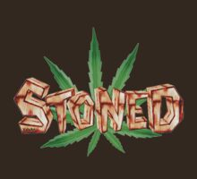 Stoned Pot leaf  by Valxart