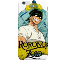 zorro iPhone Case/Skin