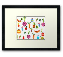 Kitchen Stories Framed Print