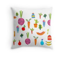Kitchen Stories Throw Pillow