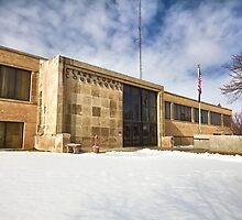 Clark County, Kansas Courthouse by oakleydo
