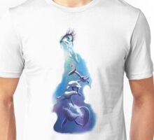OCEAN TEARS water colour illustration print Unisex T-Shirt