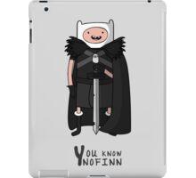 You know nofinn iPad Case/Skin
