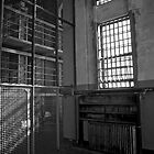 Alcatraz Library - Alcatraz Island, San Francisco by Phil McComiskey