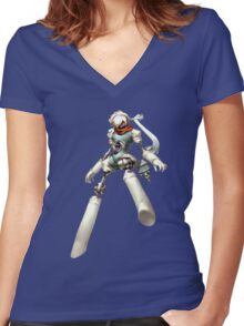 Orpheus - Persona 3 Portable Women's Fitted V-Neck T-Shirt