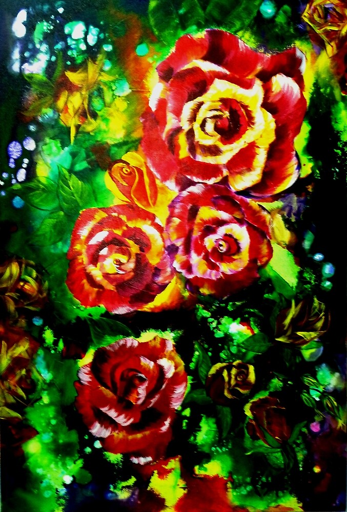 Festival of Roses by Ciska