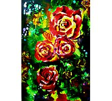 Festival of Roses Photographic Print