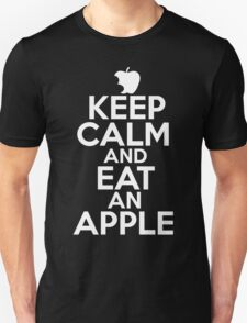Keep Calm And Eat An Apple T-Shirt