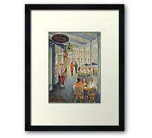 The Groove Lounge, Williamstown Framed Print