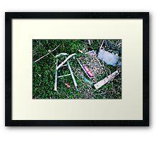 Decay 5 Framed Print