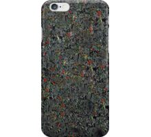 Abstract eucalyptus iPhone Case/Skin