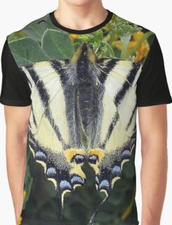 Scarce Swallowtail, Iphiclides Podalirius Graphic T-Shirt