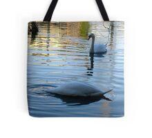"""DUCK"" said the Swan! Tote Bag"
