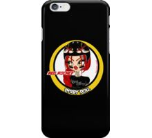 Red Rocket Derby Doll iPhone Case/Skin