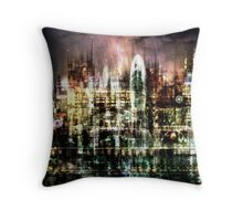 Night-Scape II Throw Pillow
