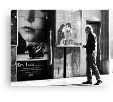 Reading Shakespeare Canvas Print