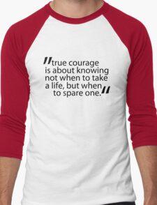 The Hobbit best quotes #6 Men's Baseball ¾ T-Shirt