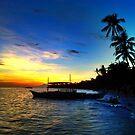 Alona Beach, Panglao by Topher Webb