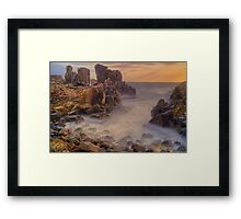 Sunrise at Bombo. Framed Print