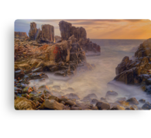 Sunrise at Bombo. Canvas Print