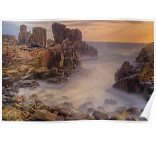 Sunrise at Bombo. Poster