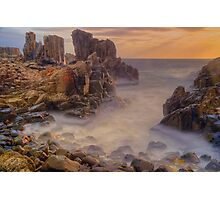 Sunrise at Bombo. Photographic Print