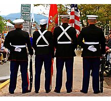 4 Marines Photographic Print