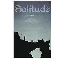 Solitude Photographic Print