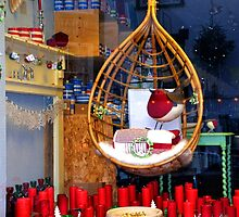 Beautiful shop window Lyme Dorset UK by lynn carter